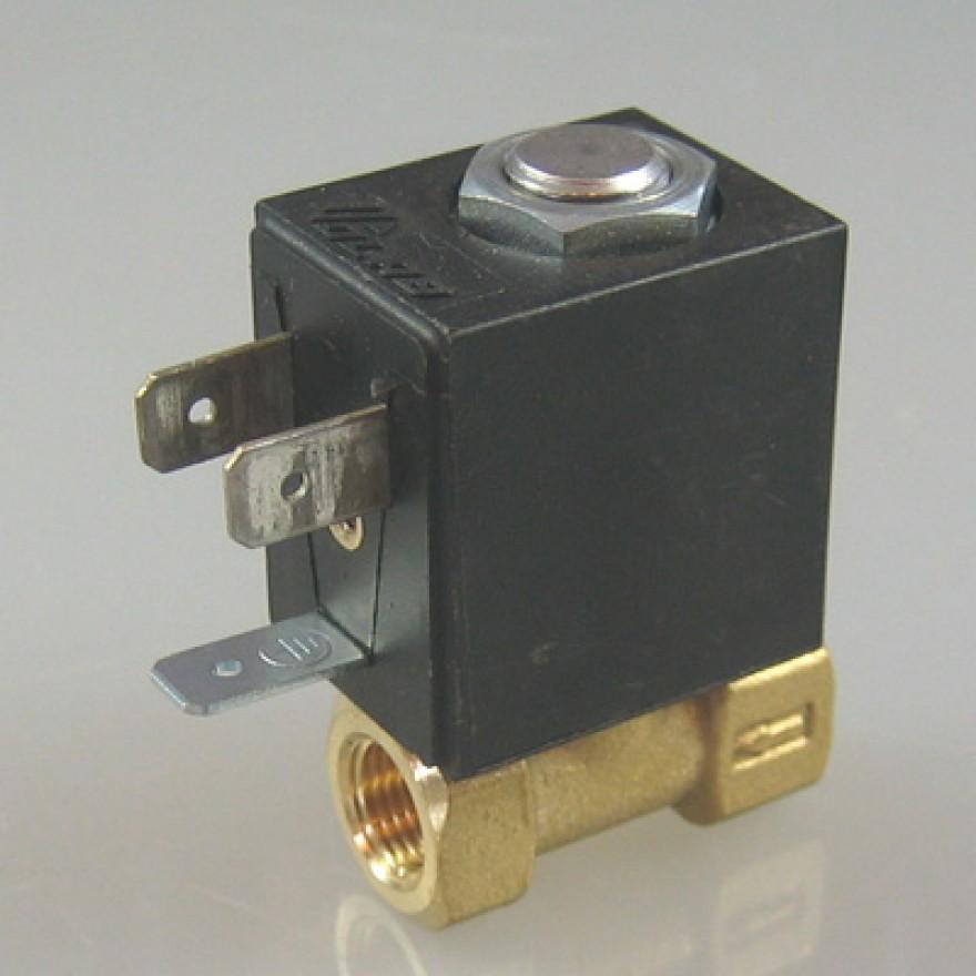 DC24V Magnetventil,G1//8 Ventil Solenoid Valve Direktgesteuertes Magnetventil f/ür Wasser Luft /Öl,G1//8 Zoll 3 Wege Ventil aus Aluminiumlegierung,IP65 Schutzstufe Elektromagnetventil