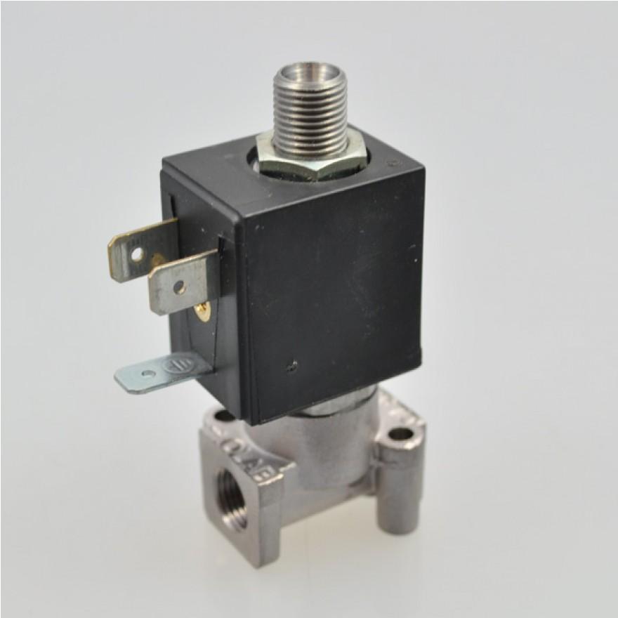 """2//2-Wege Magnetventil aus Messing Stromlos geschlossen G1//8/"""" bis G2/"""" Druckluft"""