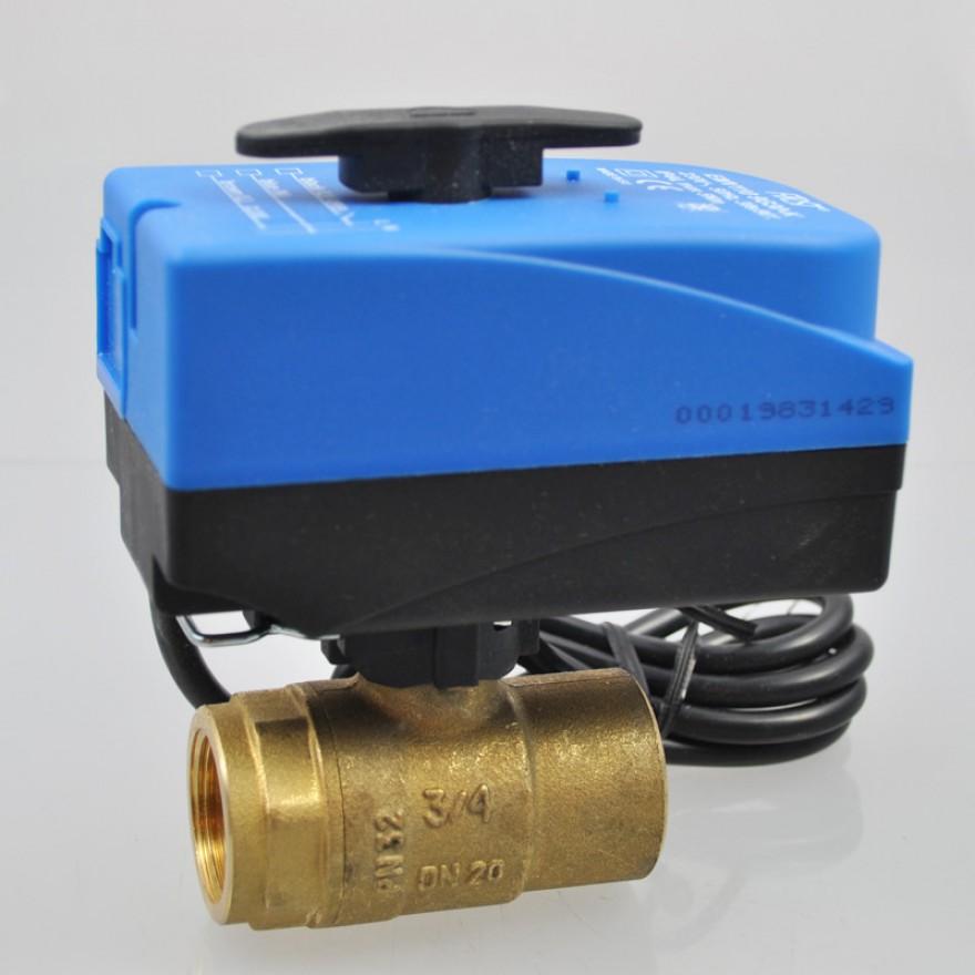 2 Wege Kugelventil elektrisch gesteuert G1 1/4 Zoll DN 32, Compact ...